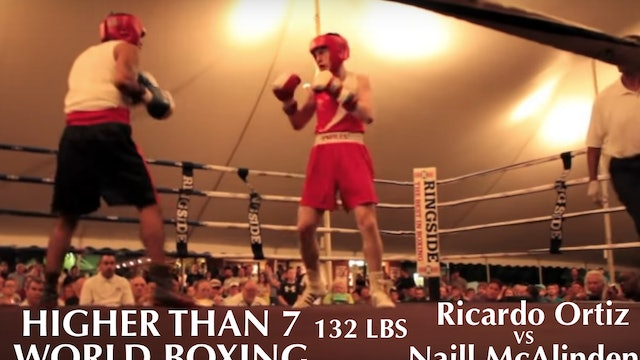Higher Than 7 World Boxing Naill McAlinden VS. Ricardo Ortiz - 132 LBS