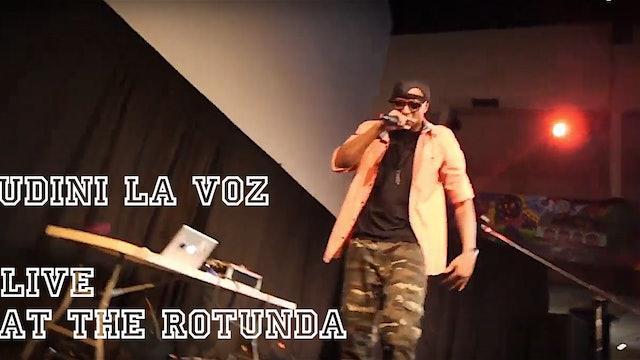 """Udini La Voz Performing """"No Turning Back"""" at The Rotunda"""
