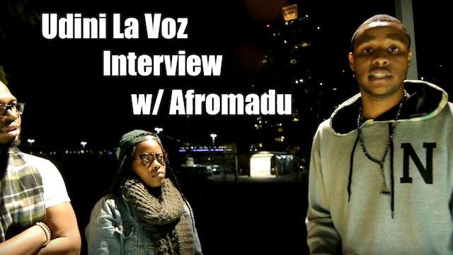 Udini La Voz Afromadu Interview