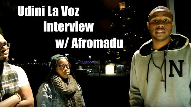 Udini La Voz Afromadu Interview