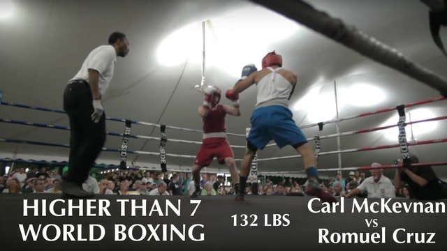 Higher Than 7 World Boxing - Carl McKevnan VS. Romuel Cruz - 132 LBS