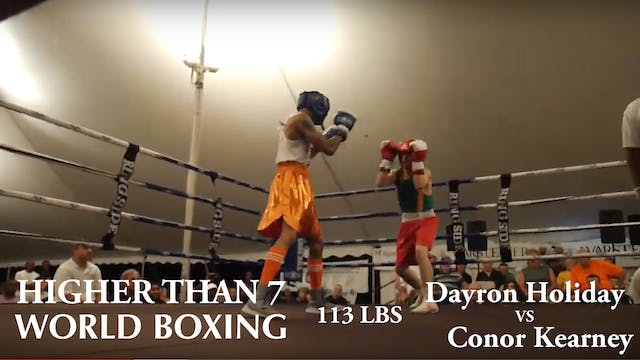 Higher Than 7 World Boxing - Dayron H...