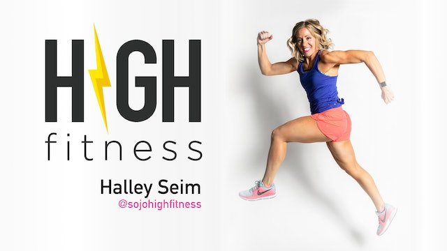 Wed 10/20 4:00 PM MT | 60 min | HIGH Fitness