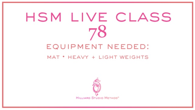 HSM Live Class 78