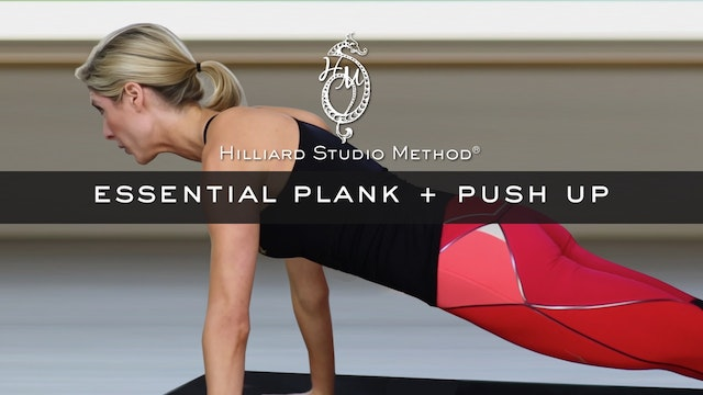 Essential Plank + Push Ups