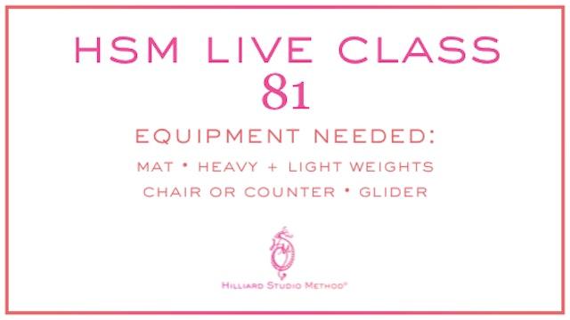HSM Live Class 81