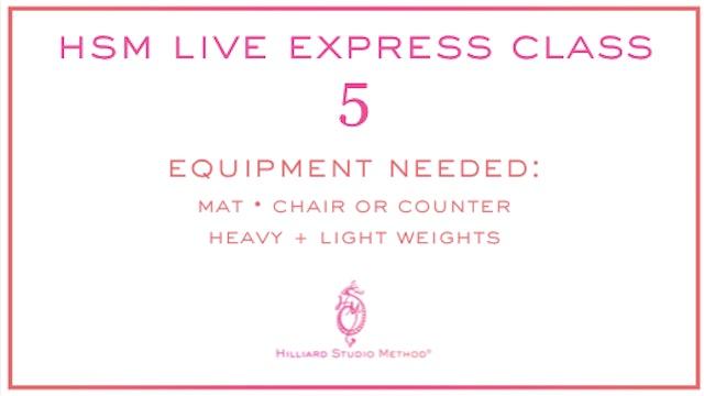 *Bonus Videos* HSM Live Express Classes
