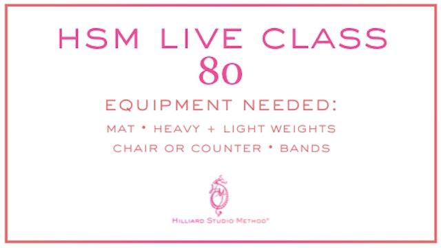HSM Live Class 80