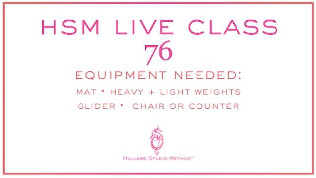 HSM Live Class 76