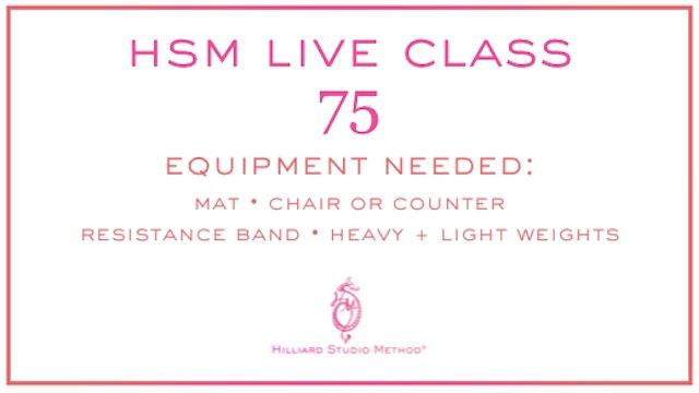 HSM Live Class 75