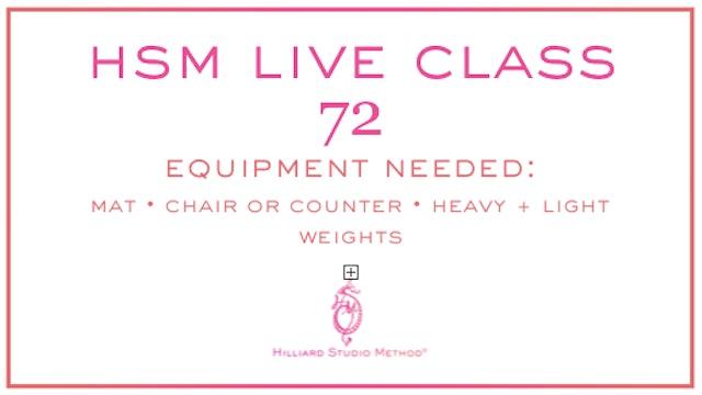 HSM Live Class 72