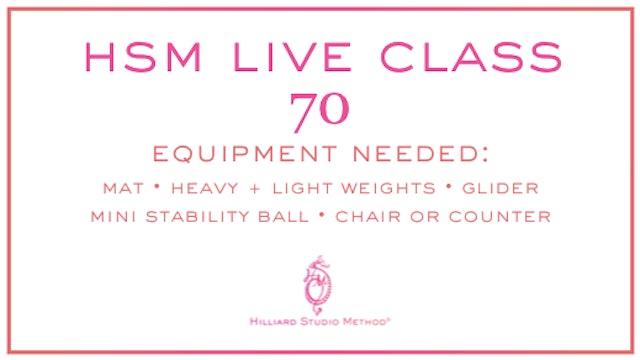 HSM Live Class 70
