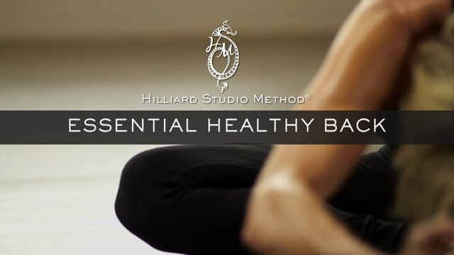 Essential Healthy Back