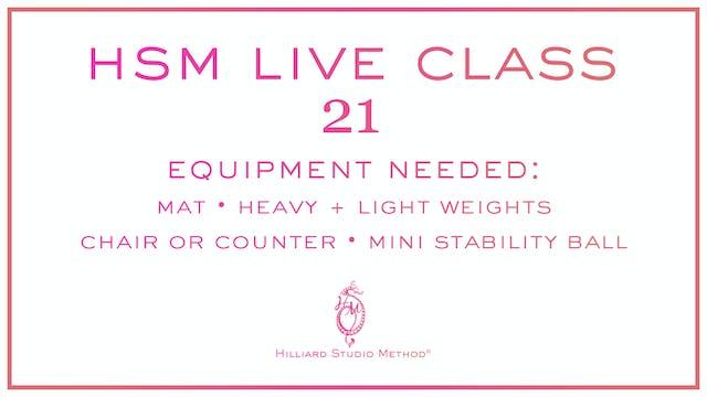HSM Live Class 21