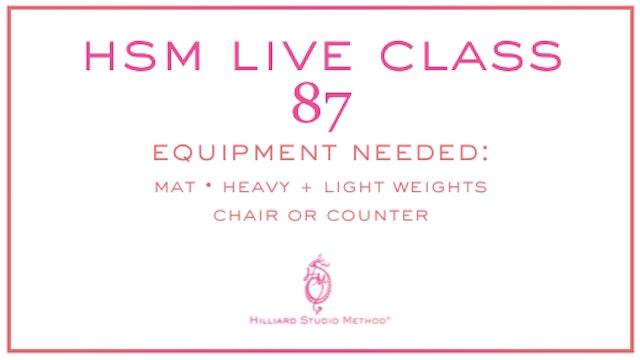 HSM Live Class 87