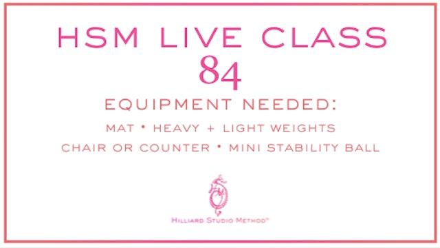 HSM Live Class 84