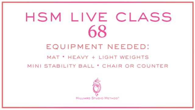 HSM Live Class 68