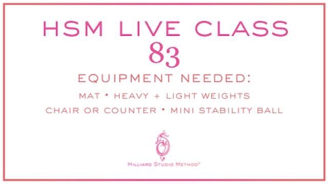 HSM Live Class 83