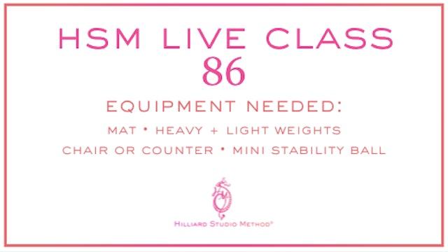 HSM Live Class 86