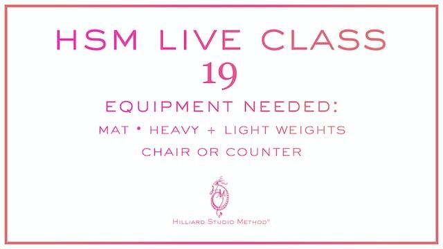 HSM Live Class 19