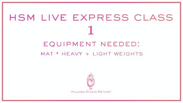 *Bonus Video* HSM Live Express Class