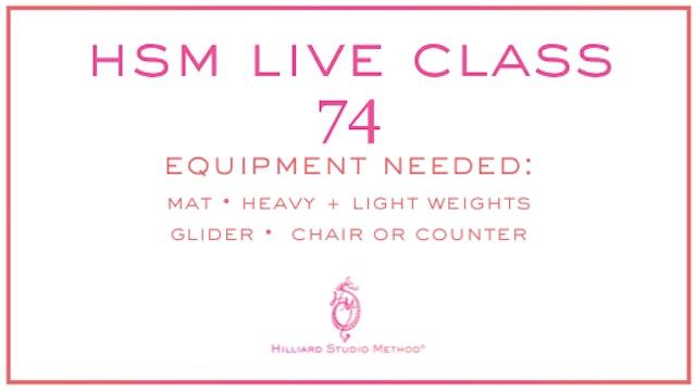 HSM Live Class 74