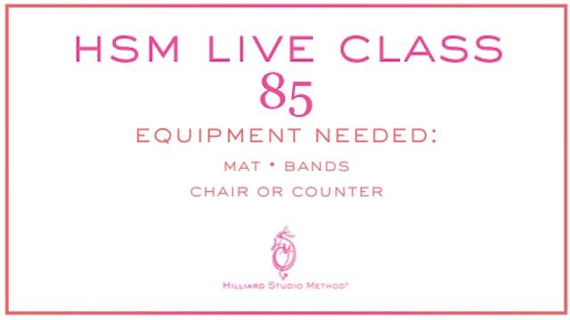 HSM Live Class 85