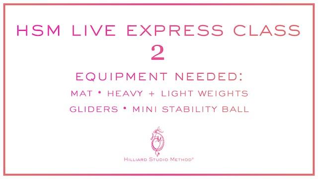 HSM Live Express Class 2