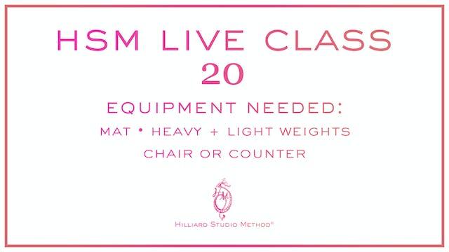 HSM Live Class 20