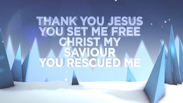 The Greatest Story Ever Told - WORSHIP: Thank You Jesus (BACKING)
