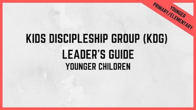 KDG Leader's Guide | Younger Children