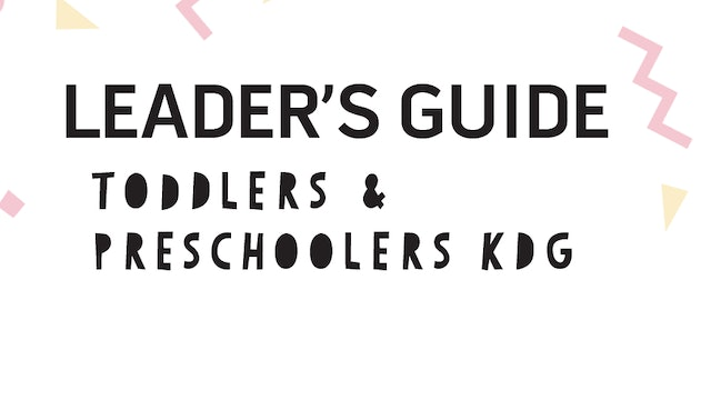 KDG Leader's Guide Jr