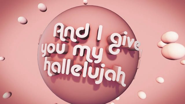 Psalms Proverbs Parables - WORSHIP: I Give You My Hallelujah (FULL)