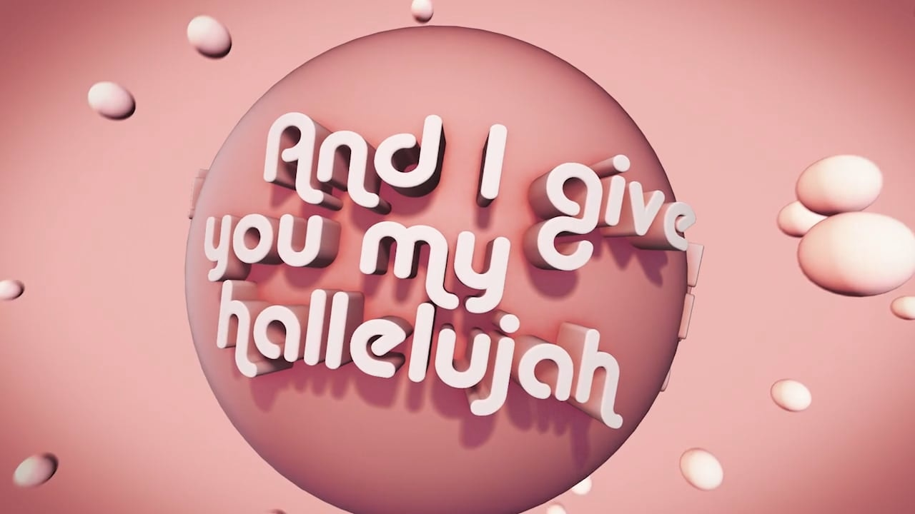 I give you my hallelujah hillsong lyrics