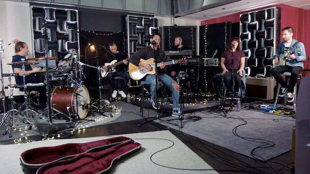 Live Video (from the Studio) - I Give You My Hallelujah