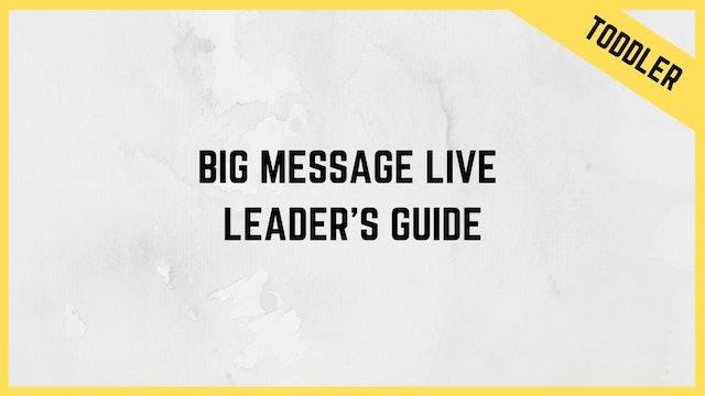 BiG Message Live