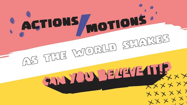 Actions Video - As The World Shakes