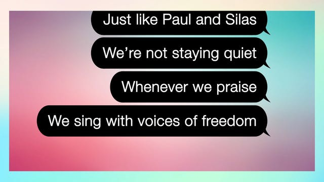 Lyric Video - Voices Of Freedom