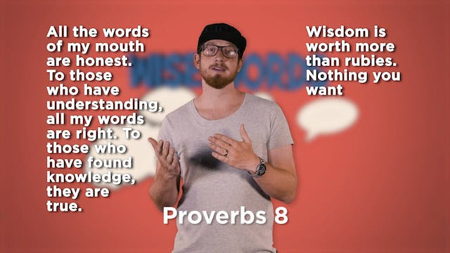 Psalms Proverbs & Parables - Week 6 BIG MESSAGES LIVE (2.3)