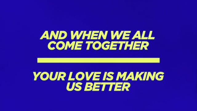 Lyric Video - We Came To Meet With You