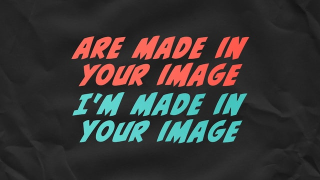 Can You Believe It!? - WORSHIP: Made In Your Image (BACKING)