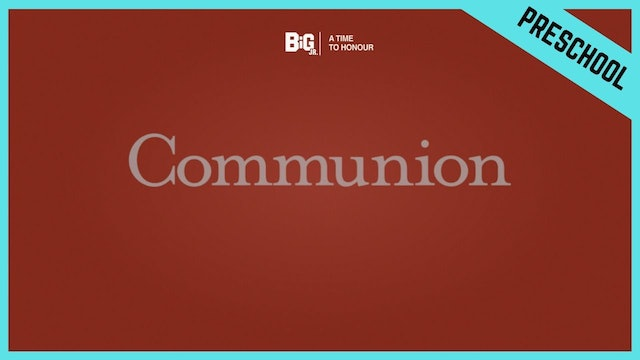 Communion | Preschool/Kindergarten