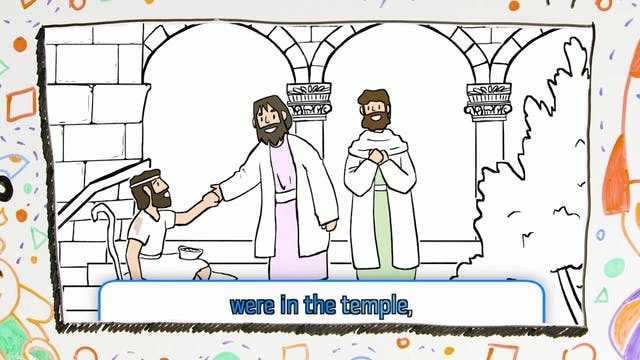 The Greatest Story Ever Told JR PRESCHOOL - Week 7 BIG MESSAGE (3.1)