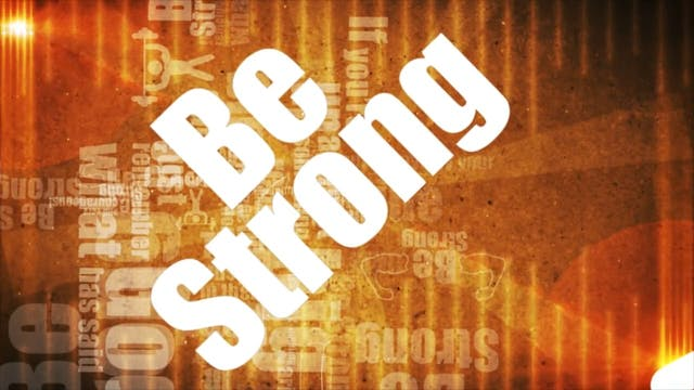 The Greatest Story Ever Told Jr - WORSHIP: Be Strong (BACKING)