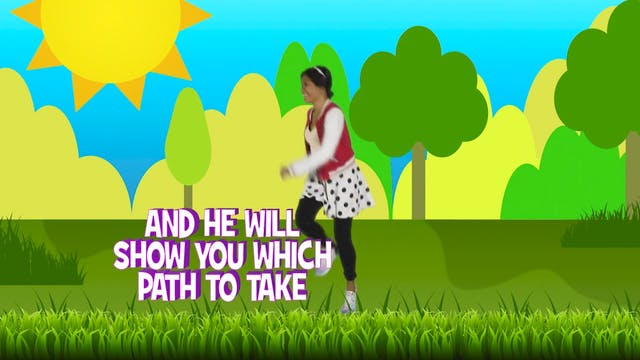 Psalms Proverbs & Parables - Week 4-6 BiG WORD (Proverbs 3:5-6)
