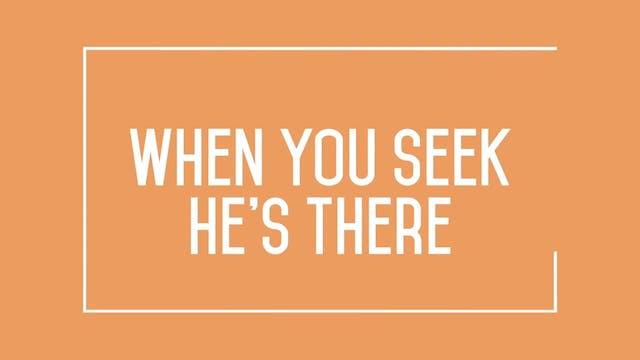 Psalms Proverbs Parables - WORSHIP: Ask Seek Knock (CLICK)