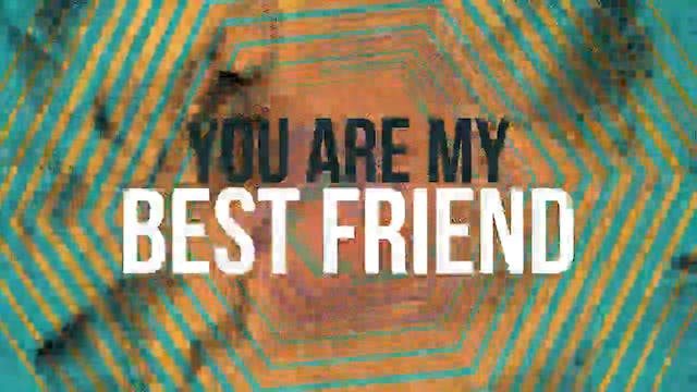 Celebrate - WORSHIP: My Best Friend (BACKING)
