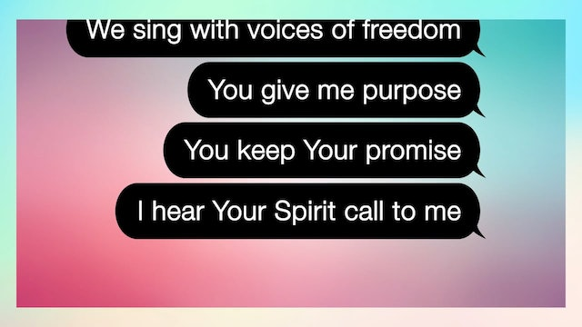 Can You Believe It!? - WORSHIP: Voices Of Freedom (CLICK)