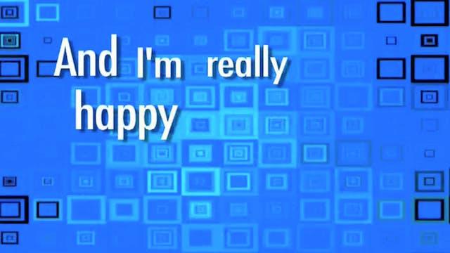 I'm Really Happy: BACKING