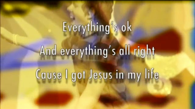 10. Jesus In My Life: BACKING